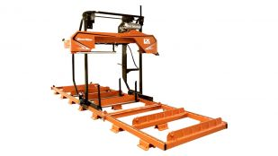 LX250 Twin Rail Wide Slab Sawmill