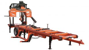 LX450 twin rail hydraulic portable sawmill