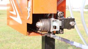 Bras guide-lame réglable pour scierie LX55