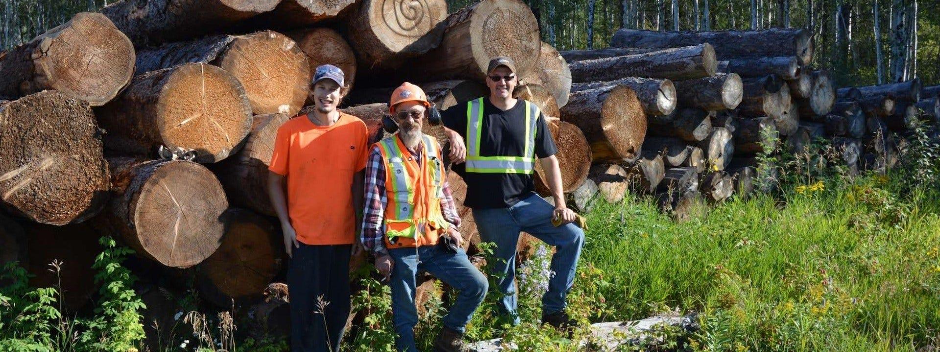 Saskatchewan Sawmiller Doubles Production with Wood-Mizer Portable Sawmill