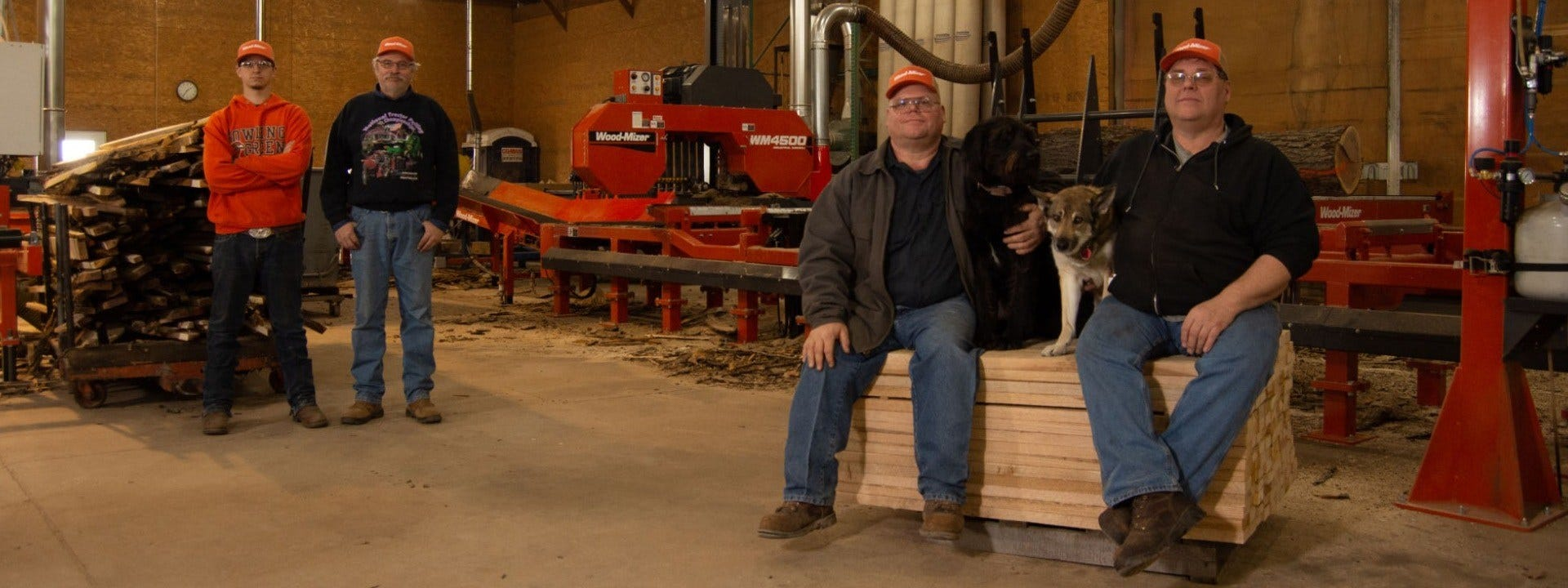 L. Garbers & Sons Sawmill Northwest Ohio