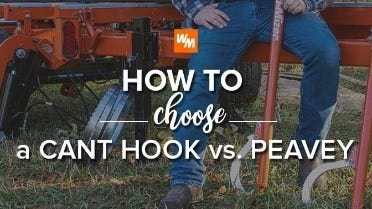 How to Choose a Cant Hook vs. Peavey