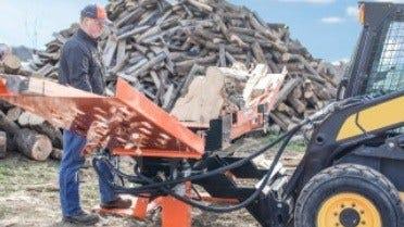 FS350 Skid Steer Log Splitter