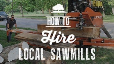 Hiring Local Sawmills