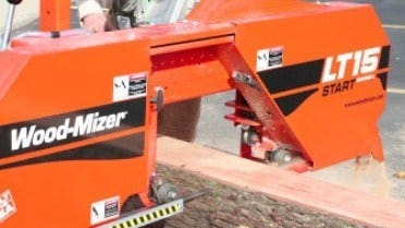Wood-Mizer Economical LT15START Sawmill