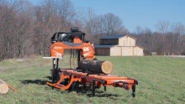 Wood-Mizer LX450 Twin Rail Sawmill