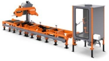 High-Production WM4500 Industrial Sawmill