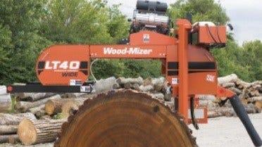 Wood-Mizer LT40 Wide Hydraulic Sawmill