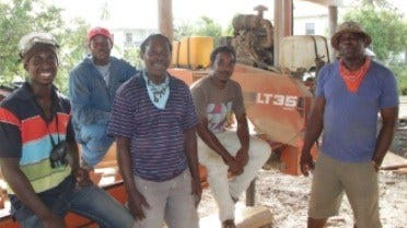 Caribbean Family Grows Woodworking Business with Portable Sawmill