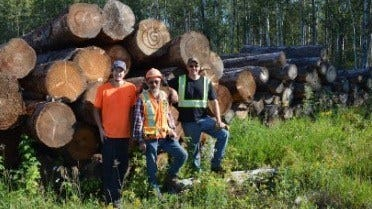 Saskatchewan Sawmiller Doubles Production with Wood-Mizer Portable Sawmill