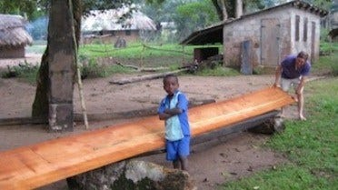 One Small Sawmill Creates Positive Change in the Congo Jungle