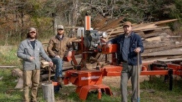 Sawmilling and Horse Logging in Western North Carolina
