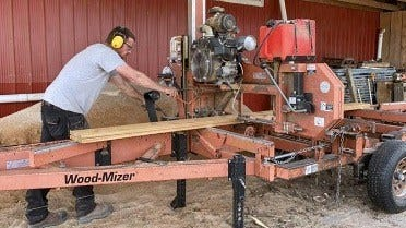 Rustic and Reclaimed, Salvage Sawmilling in Canada