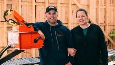 Timber Koke's Sawmill in Canada