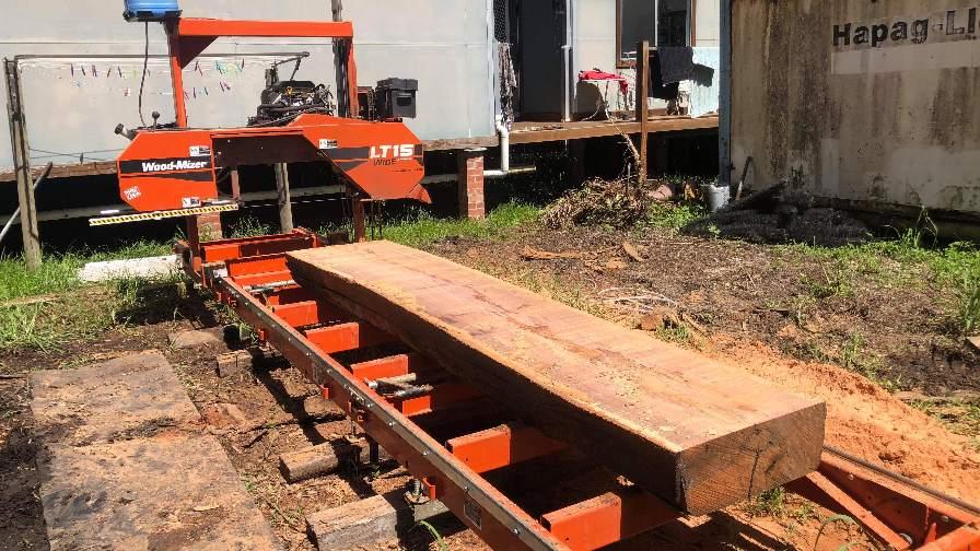 Portable sawmill Australia