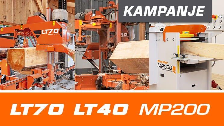 LT40 og LT70 Sagbruk Promo