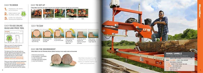 Sawmill Catalogue Spread