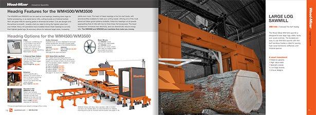 Industrial Catalogue Spread