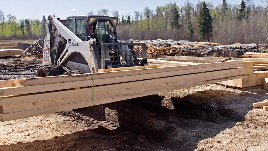 Christiansen Lumber Material