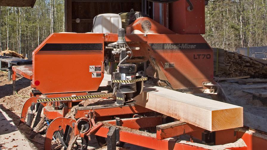 Christiansen Lumber Sawmill