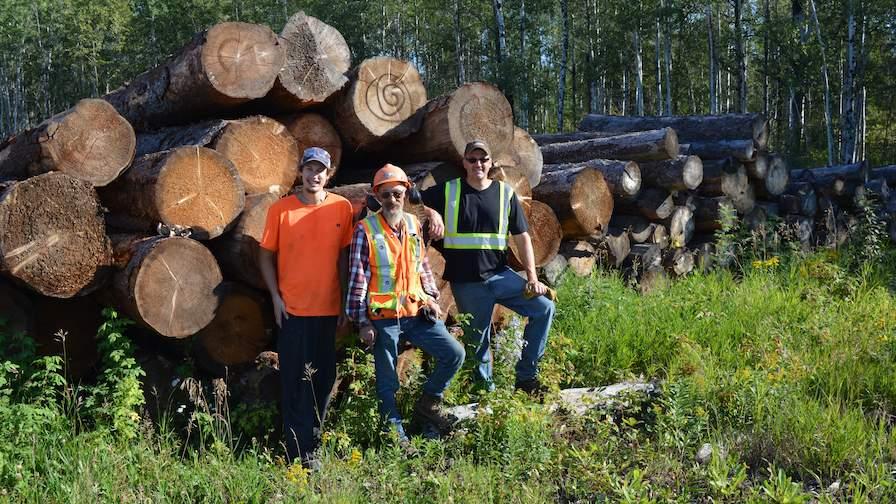 Christiansen Lumber Logs