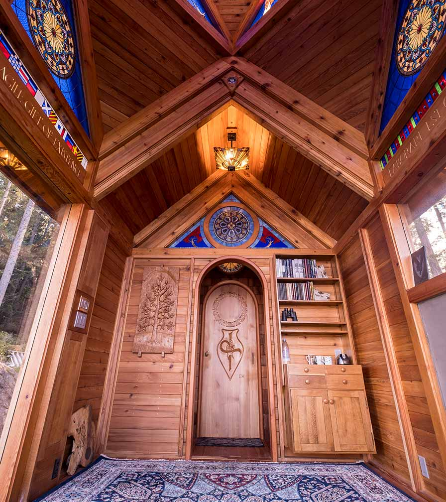 Lowell Hinrichs Inside Chapel