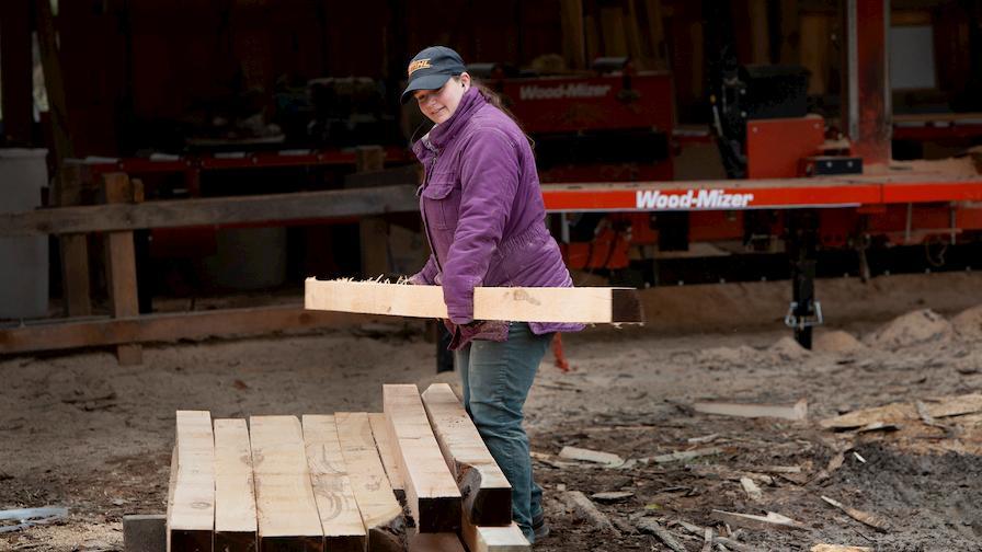 Megan moving dimensioned boards