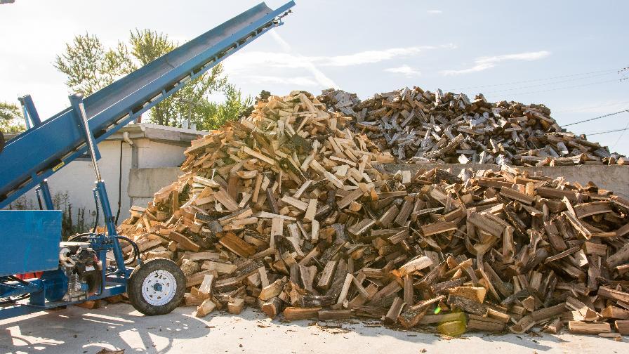 Hood Farms Firewood Pile