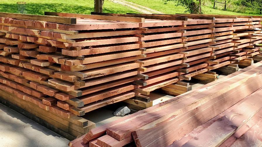 Narrow Gate cedar boards