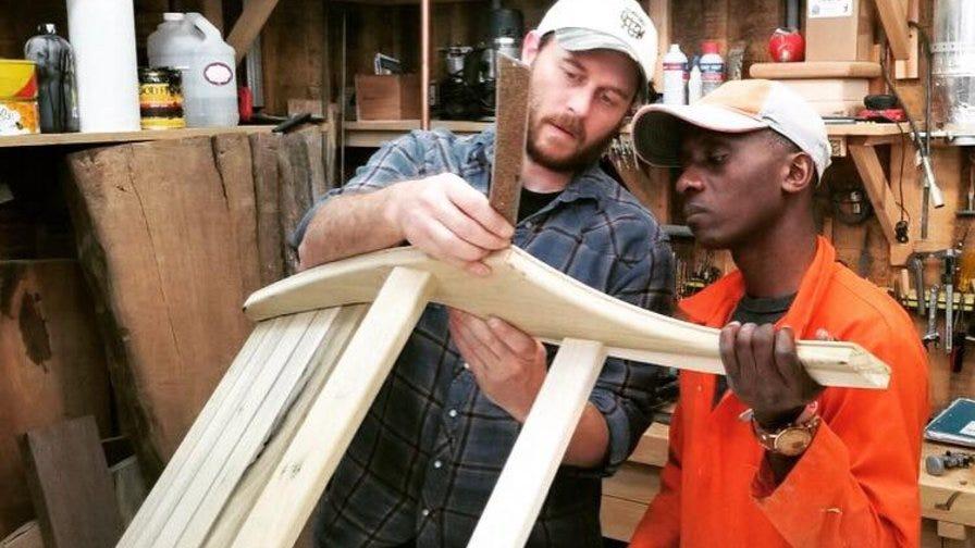 Narrow Gate woodworking training