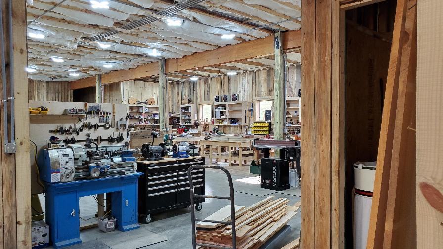 Narrow Gate workshop tools