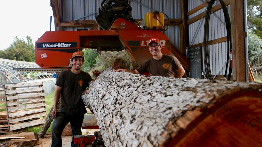 Kamuela Hardwoods Portable Sawmill