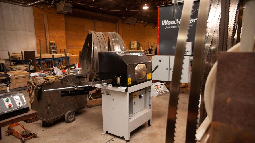 Wood-Mizer BMS500 blade sharpener