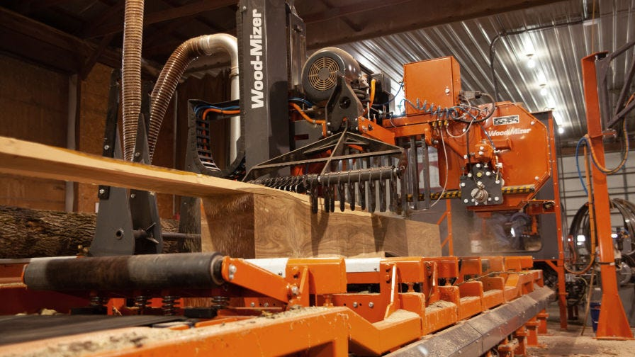 WM4500 Wood-Mizer Industrial Sawmill