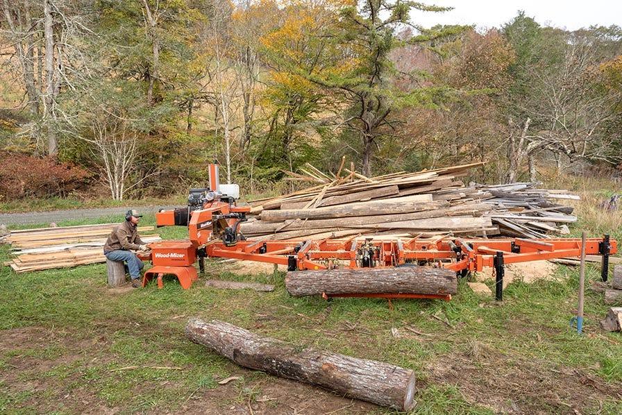 Wood-Mizer LT35 Portable Sawmill