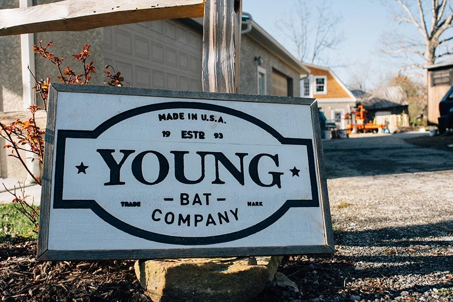 Young Bat Sign