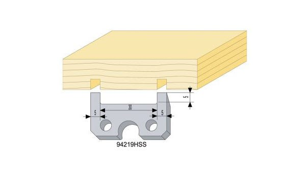 Relief Knife for Siding and Panelling