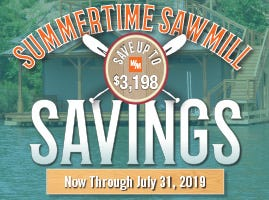 Summertime Sawmill Savings