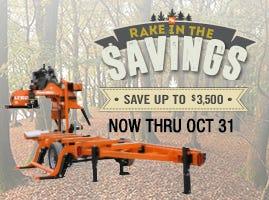 Summertime Sawmill Savings