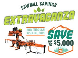 Sawmill Savings Extravaganza