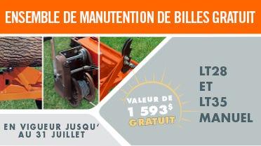 AJOUT ENSEMBLE DE MANUTENTION DE BILLES