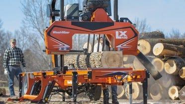 LX450 Sawmill at Log Yard
