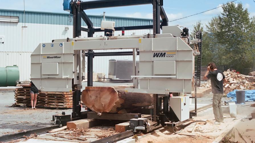 Wood-Mizer WM1000 industrial sawmill