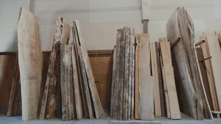 Van Urban Timber custom wood slabs