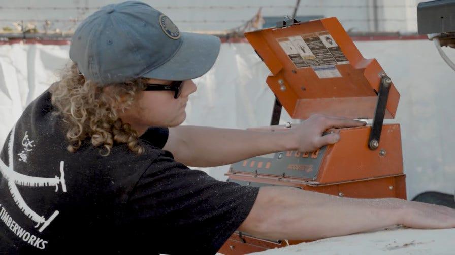 Wood-Mizer Accuset 2 sawmill control
